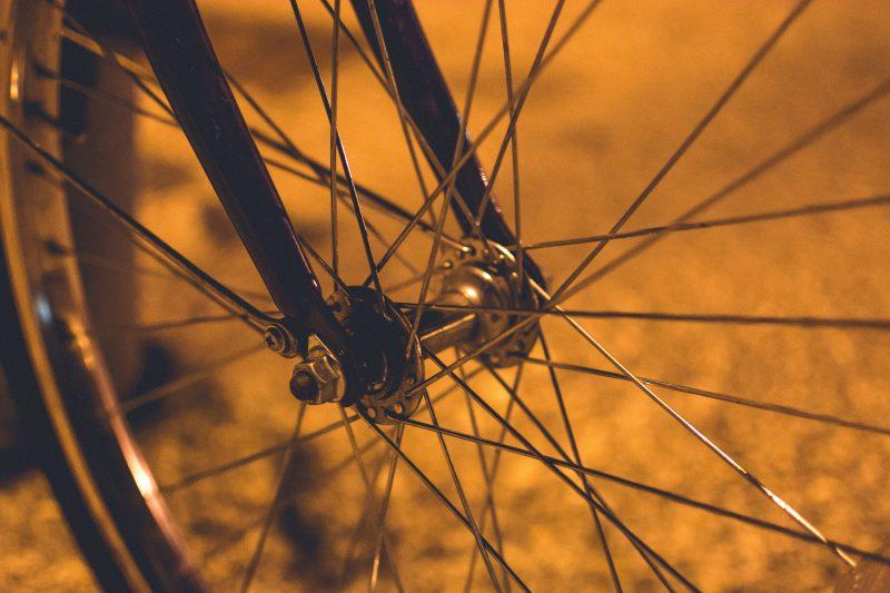 Image of bicycle wheel by Pietro De Grandi