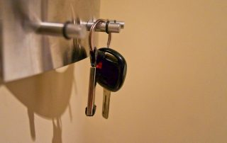 "Image of car key for blog post titled ""Are You Covered If Someone Drives Your Car?"""